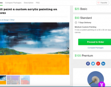 Order a Custom Acrylic Painting from Me on Fiverr